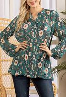 Women's Plus Size Tunic,UK 22/24,BNWT,SUZANNE BETRO US DESIGNER,RRP£56
