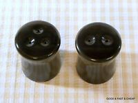 FRANCISCAN earthenware MADEIRA pattern ~ Salt & Pepper Shaker Set