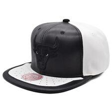 Chicago Bulls Mitchell & Ness JORDAN DAY ONE Snapback NBA Hat -Black/White