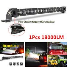 "1Pcs 20"" 180W 18000LM Off-Road 6D Spot Beam Slim Single Row LED Work Light Bar"