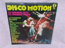DISCO MOTION(LABELLE,BLACKBYRDS,BARRY WHITE,BEE GEES,GEORGE McCRAE)L.P.