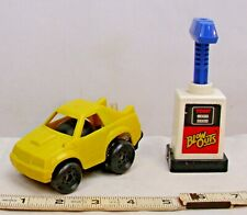 TOMY AIR JAMMER BLOW OUTS FORD MUSTANG CAR IN YELLOW WORKS WITH PUMP