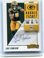 2018 Contenders Jake Kumerow Rookie Ticket Base Auto RC Packers SP AUTOGRAPH