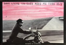 """Nobody Living Can Ever Make Me Turn Back"" by Ed Templeton, Very Fine OOP Scarce"