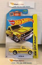 Datsun 620 #125 * YELLOW Kmart Only * 2015 Hot Wheels * L14