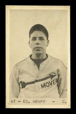 1932-38 Vancouver Senior Amateur League Peanuts #41 Ed Henry Uncataloged 1936-37