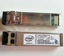 Intel FTLX8571D3BCV-IT E10GSFPSR E65689-001 Ethernet SFP SR for X520-DA2/SR2