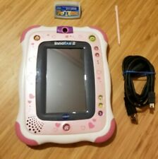 Vtech Innotab 2S Kids Tablet With Learning Game White/Pink Stylus USB cable