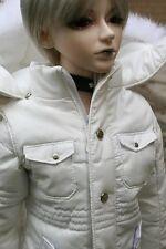 [wamami]White Quilted Jacket/Coat/Clothes 1/4 MSD AOD DOD DZ BJD Dollfie White