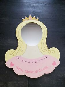 Princess Wall Mirror for Little Girls