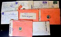 Regno -Storia Postale - Censure Militari - Lotto da 18  buste