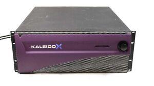 Miranda Kaleido-X KXA-FR4 Mainframe for KXO Multiviewer Cards 2x PS KXA-GPI-GEN