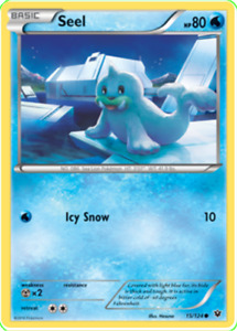 Pokemon TCG XY Fates Collide Seel 15/124 - Brand New Genuine