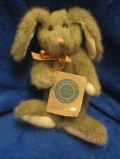"Boyds Grayson Gray Rabbit Fully Jointed 8"" J.B. Bean Collection"