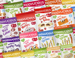 KIDDYLICIOUS - Tasty-Healthy | Snacks & Meals For Kids | 16 Varieties - FREE DEL