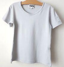 T-shirt GRIS Venise Du Nord 10 ans état NEUF VDN très chic poche au bras !