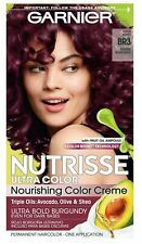 Garnier Nutrisse Ultra Color Nourishing Permanent Hair Color Cream, BR3 Intense