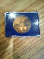Vintage Project Apollo XIII 13 Coin & Case
