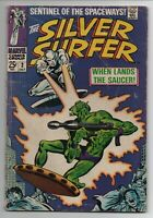 Silver Surfer #2 - Marvel Comics 1968 - FREE SHIPPING