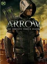 Arrow: the Complete Fourth Season (DVD, 2016, 5-Disc Set) NEW!