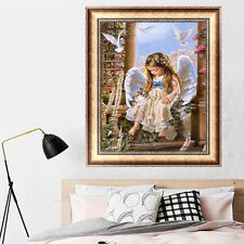 DIY 5d Diamond Painting Little Angel Embroidery Cross Stitch Home Decor Craft