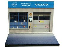 diorama présentoir Volvo - Fredriksson Bilservice - 1/43ème - #43-2-A-A-019