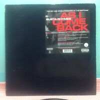 """Busta Rhymes - As I Come Back (2001) 12"""" Mix Vinyl Record"""