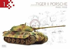 "Mig Productions Book ""Tiger II Porsche"" by Angel Inigo (A complete visual guide)"