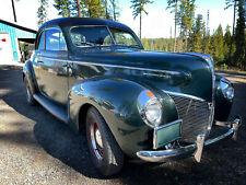 1940 Mercury 40 Merc Club Coupe 60s Rod