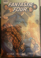 Fantastic Four vol 1 Jonathan Hickman HC new SEALED OOP 1st ed Marvel Premiere