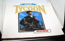 Book (Booklet) Sid Meier's Railroad Tycoon-Instruction Booklet Games Consultant