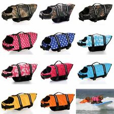 Pet Safety Vest Dog Life Jacket Preserver Puppy Doggy Large Swimming XS - XXL