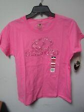 Mossy Oak Ladies Graphic Logo Pink Short Sleeves T-Shirt Size XL