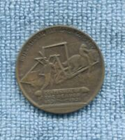 Cyrus McCormick International Harvester Co Centennial The Reaper Medal 1831-1931