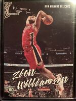 2019-20 Chronicles Luminance Zion Williamson RC New Orleans Pelicans NICE