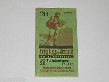 Schladminger Tauern 20, Landkarte, Freytag & Berndt Touristenkarten, ca. 1950