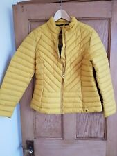 Joules Gold Jacket Size 14 BNWT