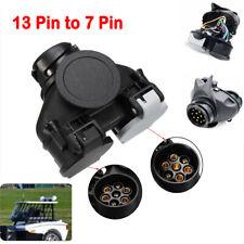 13 Pin to 7Pin Trailer Light Board Extension Adaptor Socket Plug Caravan Towing