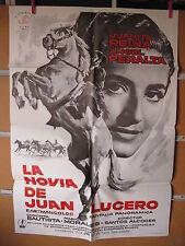 A1822 LA NOVIA DE JUAN LUCERO,JUANITA REINA,ANGEL PERALTA,CONCHITA BAUTISTA