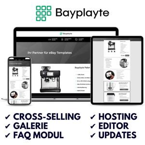 Ebay Template Vorlage 2021 Responsive Auktionsvorlage HTML inkl. Module