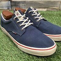 UK10.5 Tommy Hilfiger Canvas Shoes - Comfort Designer Holiday Trainers - EU45