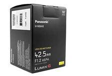 New Panasonic LUMIX G Leica DG Nocticron 42.5mm f/1.2 ASPH Power OIS Lens