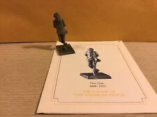 Vintage Saturday Evening Post Franklin Mint Pewter Figurine First Date