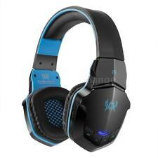 Gaming Headset Wireless Bluetooth Stereo Headband Headphone with Mic for PC A9W6