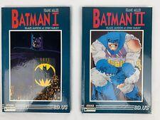 Frank Miller Batman I & Ii, French Aedena Edition 1986 Dc Comics Dargaud Euc