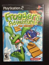 Frogger's Adventures: The Rescue Sony PlayStation 2 PS2 Complete Rare 1-4 Player