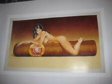 Reklame Plakat H. UPMANN 1844 ZIGARREN Werbeplakat Poster Reprint