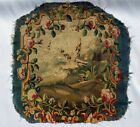 A Great Antique Armchair Tapestry Cover