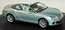 Bentley Continental GTC Convertible 2011-15 grün metallic 1:43 Minichamps