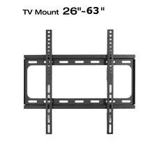"Flat TV Wall Mount Bracket Tilt 26-32-36-38-40-42-46-50-52-55 to 63"" LED Plasma"